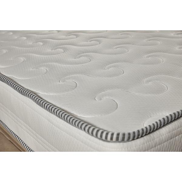 Στρώμα Achaia Strom Calm 3 Ζωνών Air Foam-Latex-Memory Foam μονό 90x200x24cm - Ελληνικής κατασκευής
