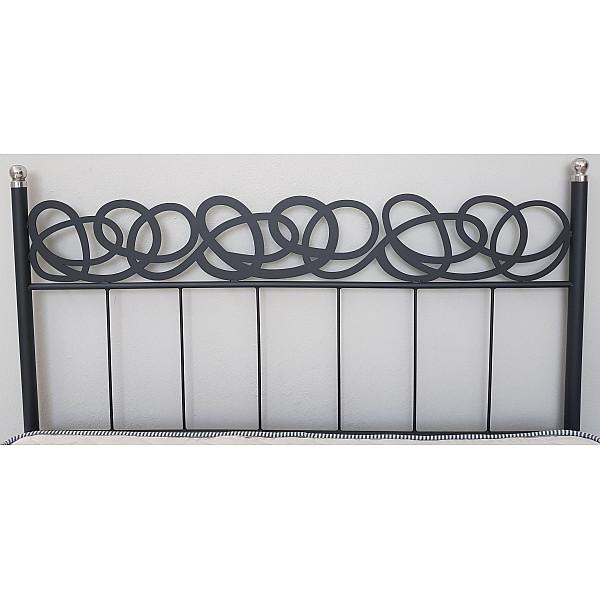 Κρεβάτι μεταλλικό Draw Lazer διπλό 160x200 - Ελληνικής κατασκευής