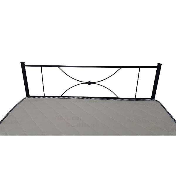 Κρεβάτι μεταλλικό μονό Lindos 90x200 -Ελληνικής κατασκευής