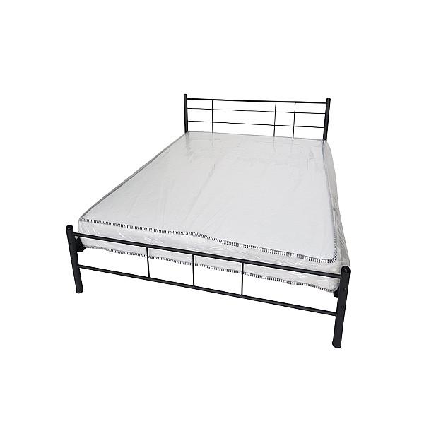 Κρεβάτι μεταλλικό μονό Lines 090x200 - Ελληνικής κατασκευής