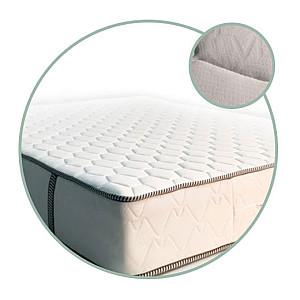 Στρώμα Achaia Strom Eco Pocket Wellness με Ανεξάρτητα ελατήρια μονό 90x190x24cm