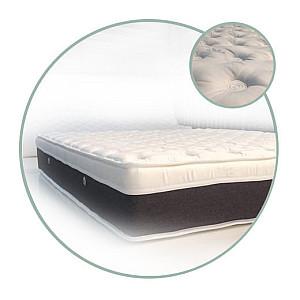 Στρώμα Achaia Strom Olive Oil Air Foam Latex 2 σε 1 (Ορθοπεδικό - Ανατομικό) με ανώστρωμα ημίδιπλο 110x190x30cm