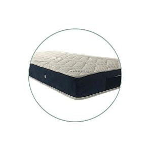 Στρώμα Achaia Strom Cashmere Orthopedic Foam ημίδιπλο 110x190x18cm